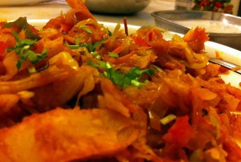 mixed vegetable parota